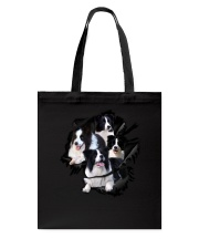 Collie Scratch  Tote Bag thumbnail