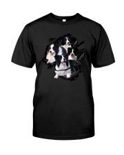 Collie Scratch  Classic T-Shirt front