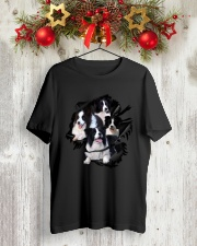 Collie Scratch  Classic T-Shirt lifestyle-holiday-crewneck-front-2