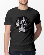 Collie Scratch  Classic T-Shirt lifestyle-mens-crewneck-front-13