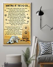 Great Pyrenees Waiting At The Door Poster 2301 11x17 Poster lifestyle-poster-1