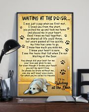 Great Pyrenees Waiting At The Door Poster 2301 11x17 Poster lifestyle-poster-2