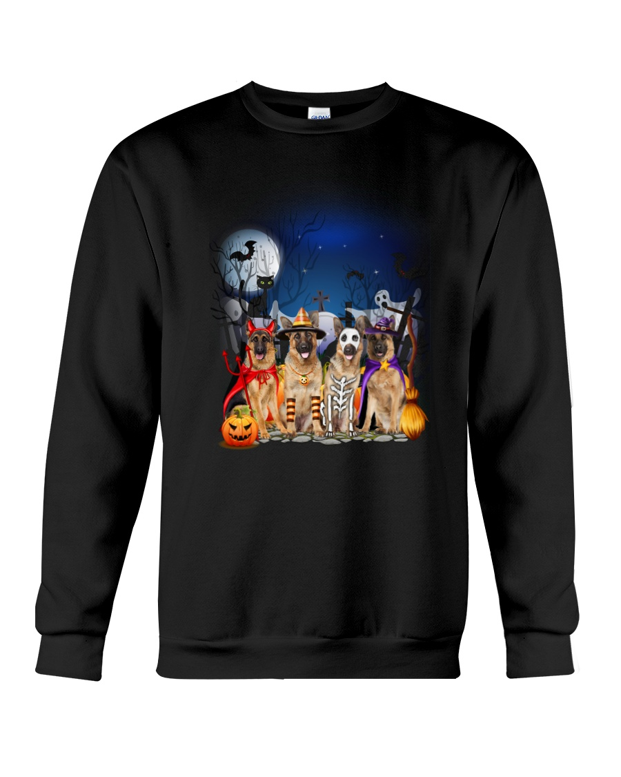 German Shepherd HW 1608 Crewneck Sweatshirt