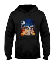 German Shepherd HW 1608 Hooded Sweatshirt thumbnail