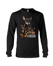 Miniature Pinscher Awesome Family 0701 Long Sleeve Tee thumbnail