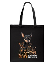 Miniature Pinscher Awesome Family 0701 Tote Bag thumbnail