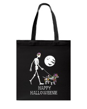 Happy Halloweenie Tote Bag thumbnail