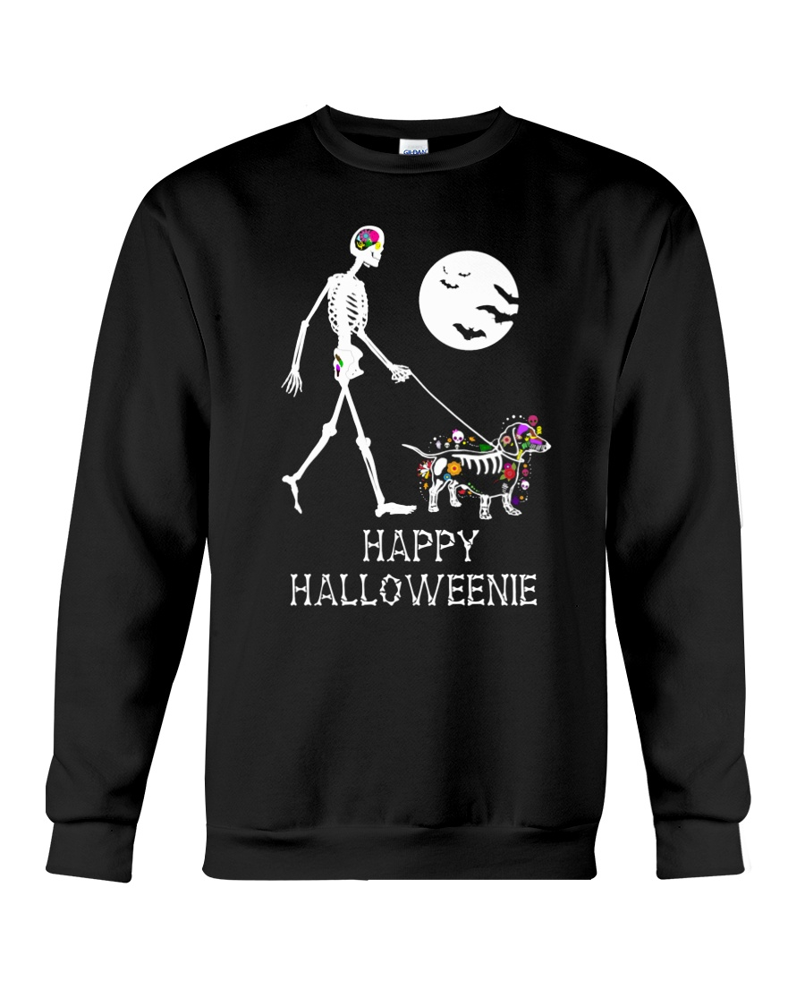 Happy Halloweenie Crewneck Sweatshirt