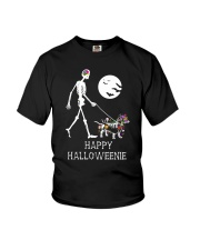 Happy Halloweenie Youth T-Shirt thumbnail
