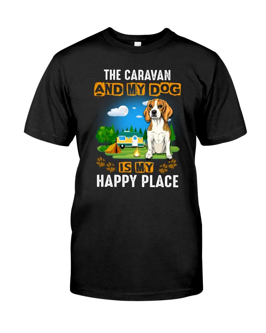 Beagle and caravan Classic T-Shirt