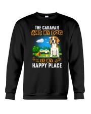 Beagle and caravan Crewneck Sweatshirt thumbnail