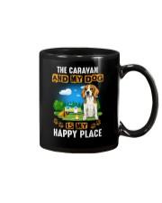 Beagle and caravan Mug thumbnail