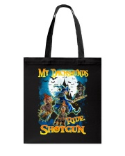 Dachshunds Shotgun Tote Bag thumbnail