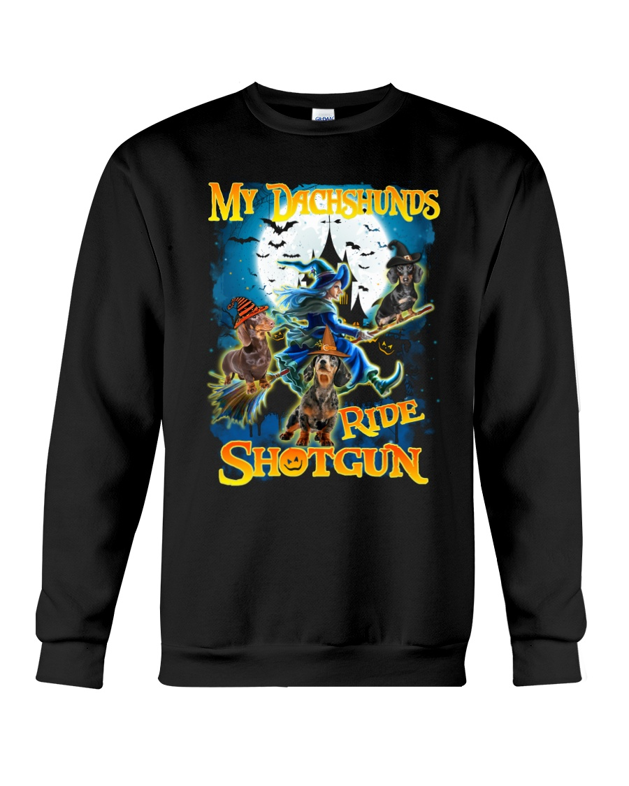 Dachshunds Shotgun Crewneck Sweatshirt