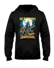 Dachshunds Shotgun Hooded Sweatshirt thumbnail