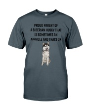 Siberian Husky Proud Parent Mug 1701 Classic T-Shirt thumbnail
