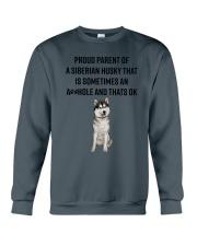 Siberian Husky Proud Parent Mug 1701 Crewneck Sweatshirt thumbnail