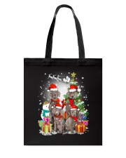 Weimaraner Family Xmas 0310 Tote Bag tile