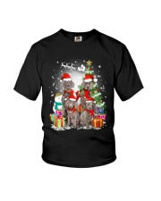 Weimaraner Family Xmas 0310 Youth T-Shirt thumbnail