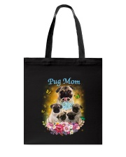 Pug mom Tote Bag thumbnail