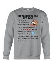 Dog thankful 2711 Crewneck Sweatshirt thumbnail