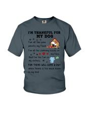 Dog thankful 2711 Youth T-Shirt thumbnail