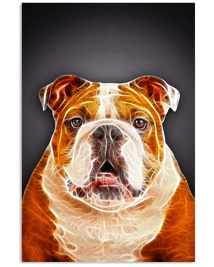 Bulldog Fractual 1412 11x17 Poster