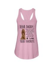 English Cocker Spaniel Dear Daddy Mug 1701 Ladies Flowy Tank thumbnail