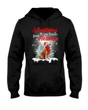 Kisses From Heaven Golden Retriever Hooded Sweatshirt front