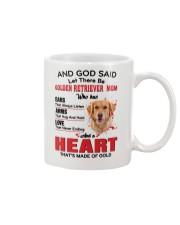 Golden Retriever Mom  Mug front