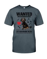 Dachshund Wanted Classic T-Shirt thumbnail