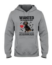 Dachshund Wanted Hooded Sweatshirt thumbnail
