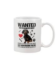 Dachshund Wanted Mug front