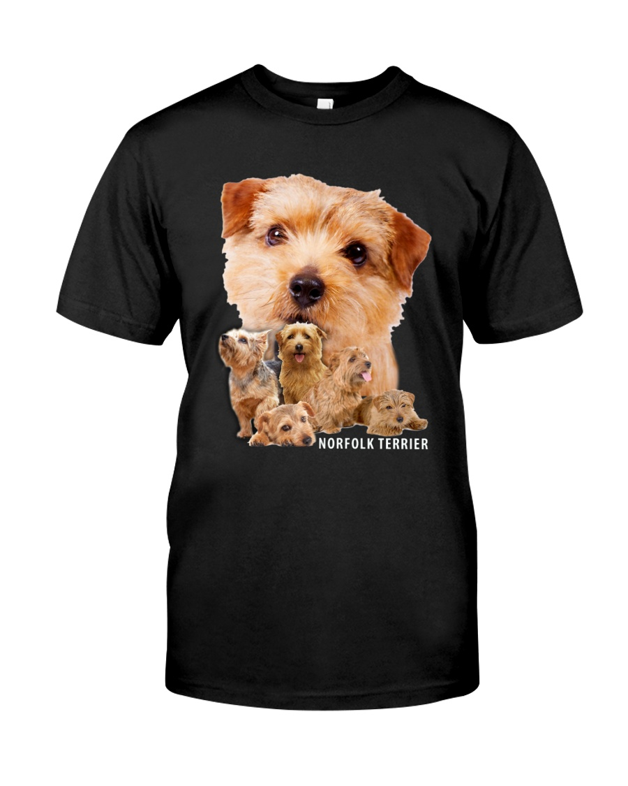 Norfolk Terrier Awesome Family 0701 Classic T-Shirt