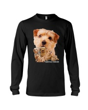 Norfolk Terrier Awesome Family 0701 Long Sleeve Tee thumbnail