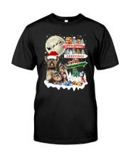 Yorkie christmas greetings 0910 Classic T-Shirt thumbnail