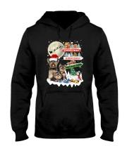 Yorkie christmas greetings 0910 Hooded Sweatshirt thumbnail