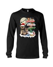 Yorkie christmas greetings 0910 Long Sleeve Tee thumbnail