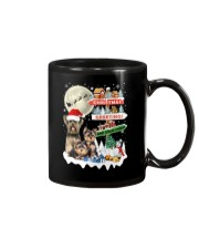 Yorkie christmas greetings 0910 Mug thumbnail