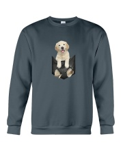Labrador retriever Pocket 1012 Crewneck Sweatshirt tile