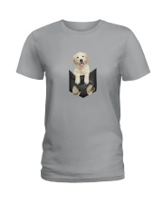 Labrador retriever Pocket 1012 Ladies T-Shirt tile