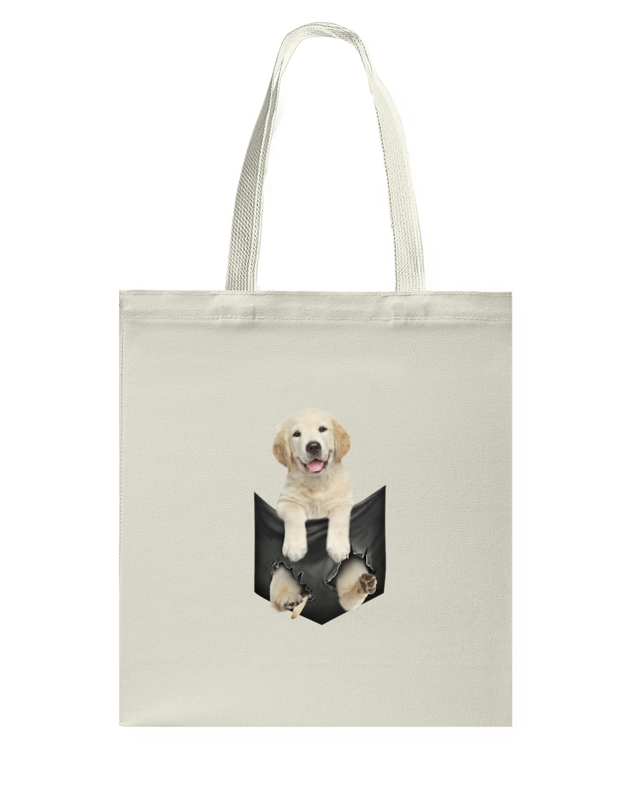 Labrador retriever Pocket 1012 Tote Bag