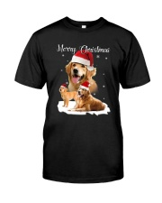 Golden Retriever Merry Xmas 2109 Classic T-Shirt thumbnail