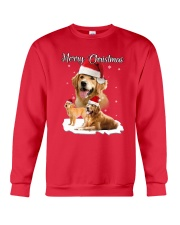 Golden Retriever Merry Xmas 2109 Crewneck Sweatshirt front