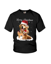 Golden Retriever Merry Xmas 2109 Youth T-Shirt thumbnail