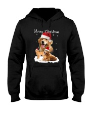 Golden Retriever Merry Xmas 2109 Hooded Sweatshirt thumbnail