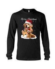 Golden Retriever Merry Xmas 2109 Long Sleeve Tee thumbnail