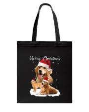 Golden Retriever Merry Xmas 2109 Tote Bag thumbnail
