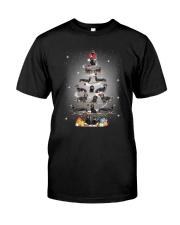 Dachshund Pine Tree 1909 Classic T-Shirt front
