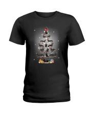 Dachshund Pine Tree 1909 Ladies T-Shirt thumbnail
